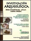 Unitr�pico presenta hoy resultados de Proyecto de Arqueolog�a Regional de veredas de Yopal