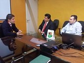 Minvivienda evalu� situaci�n del Agua Potable con Alcalde de Yopal y Parlamentario casanare�o