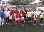 Alcald�a de Yopal disputa Campeonato de F�tbol Intersecretar�as