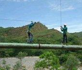 En riesgo l�nea de aducci�n del acueducto de Yopal. Obras de protecci�n cuestan mil millones