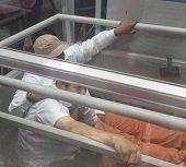 Dos personas lesionadas al desplomarse ascensor de la Alcald�a de Yopal. Secretario General sufri� fracturas