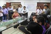 Gobernador por fin se interesó en problemáticas del Corregimiento El Morro