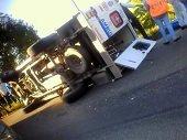 2 heridos en accidente de tr�nsito al sur de Casanare
