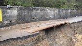 El puente de tablas que une a Boyac� y Casanare