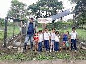Proyecto de huertas escolares en Casanare modelo de producción limpia