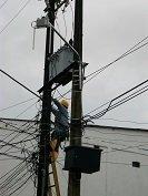 Enerca hará cambios de infraestructura eléctrica en el barrio El Porvenir de Aguazul