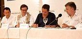 Santos y Vargas Lleras firmaron en Villavicencio contrato Autopista Villavicencio – Yopal