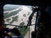 Ejército apoya a comunidades afectadas por ola invernal en Tame
