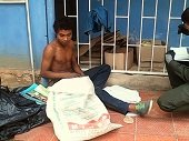Centro de Salud de la Campi�a convertido en hotel de los habitantes de la calle de Yopal