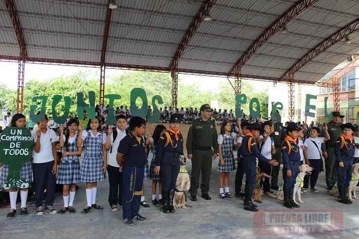 """""""Juntos por la protección del ambiente"""", campaña de la Policía Nacional"""