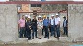 Viceministra de Cultura destacó avance de la construcción de la biblioteca pública de Aguazul