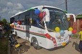 Alcaldía de Trinidad entregó buseta para adultos mayores y discapacitados