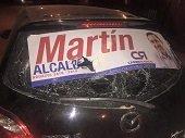 Atentado contra veh�culo de la esposa del candidato a la Alcald�a de Aguazul Mart�n P�rez