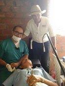 Brigada de Salud realiz� campa�a de Carlos Fredy Mej�a en la Chaparrera