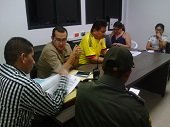 Encuentro de autoridades y candidatos a la Alcald�a y Gobernaci�n de Casanare  para adoptar medidas de seguridad