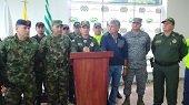 Despliegue de la fuerza p�blica en Puerto Gait�n para rescatar ingeniero secuestrado por banda delincuencial