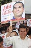 Por fraude electoral fueron capturados candidato a la Alcald�a de Nunch�a Fredy Higuera y militante de campa�a