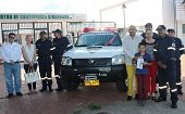 Bomberos Voluntarios de Paz de Ariporo estrenan vehículo