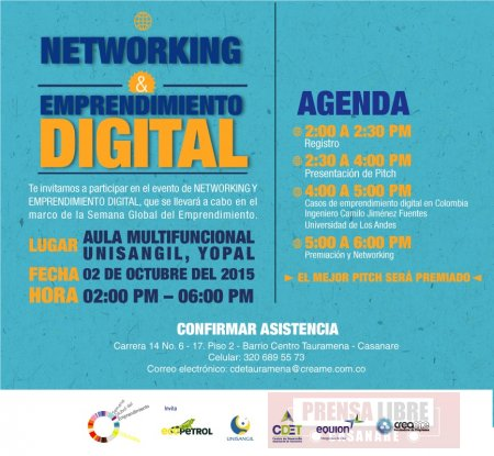 I Networking y Emprendimiento Digital en Tauramena
