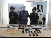 Celulares, propaganda subversiva y armas cortopunzantes encontr� la Polic�a en inspecci�n a la c�rcel Arauca