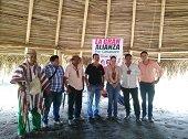 Fernanda Salcedo firm� acuerdo pol�tico con el Movimiento Alternativo Ind�gena y Social MAIS