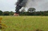 Se accident� helic�ptero de la Polic�a en Puerto Gait�n