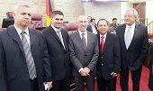 Por su destacada labor Carlos Fredy Mej�a fue condecorado en el Congreso de la Rep�blica