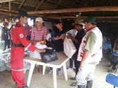 Ayudas Humanitarias para comunidades ind�genas de Ca�o Mochuelo