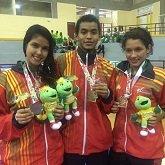 El Taekwondo le dio 5 medallas a Casanare durante el fin de semana en Juegos nacionales