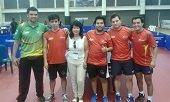 Casanare�os obtuvieron medalla de bronce de tenis de mesa en Juegos Deportivos Nacionales
