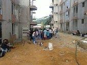 Beneficiarios de Torres del Silencio protagonizan nuevas protestas por demora en entrega de apartamentos