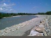 Listas obras de protecci�n del rio Cravo Sur sobre el sector de Morrocolandia