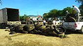 M�s de mil llantas recolectadas durante jornada de residuos posconsumo en Yopal