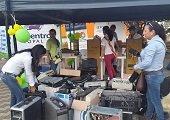 3.738 kilos de residuos peligrosos y 1.169 llantas usadas durante Jornada de Recolección Posconsumo