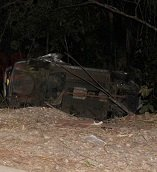 Dos personas lesionadas en accidente de tránsito en Monterrey