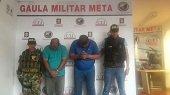 Gaula captur� en Villavicencio a extorsionistas que exig�an 120 millones a un comerciante