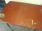 Mobiliario del Colegio Luis Hern�ndez Vargas de Yopal en avanzado estado de deterioro