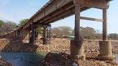 Inicia recuperación de puente sobre el río Ariporo
