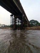 Creciente del río Ariporo se llevó paso provisional que permitía tránsito entre Hato Corozal y Paz de Ariporo