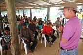Comunidades Indígenas de Paz de Ariporo recibieron visita del Alcalde