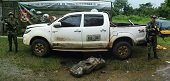 Gaula Militar Ariari incaut� 108 kilogramos de pasta base de  coca en el Meta