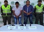 Ladrones fueron capturados con armas ilegales en San Lu�s de Palenque
