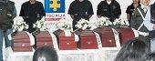 Fiscal�a entreg� restos de 13 personas en Casanare y Meta