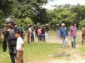 300 familias en nueva invasi�n de terreno de la Alcald�a en Yopal