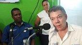 Presidente Santos anunció apoyo a emisoras comunitarias del país