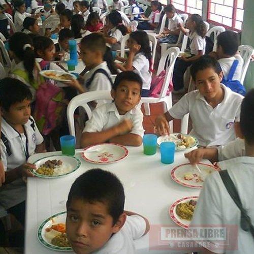 Arrancan componentes de la canasta educativa en casanare for Proyecto restaurante escolar