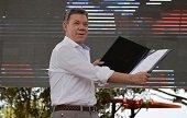 Presidente Santos lanza hoy en el Meta plan integral de intervenci�n estatal Paz en Acci�n