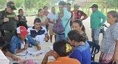 Alcald�a de Trinidad atiende a damnificados por inundaciones generadas por el r�o Pauto