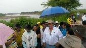 Hace dos a�os el r�o Tocar�a se llev� un tramo de la v�a de acceso a 5 veredas de Yopal, aun no se plantean soluciones