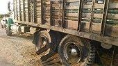 Bomberos evitaron incendio de camión arrocero en Paz de Ariporo